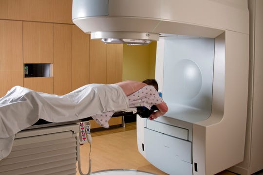 Radiation usually is part of the cancer treatment protocol.