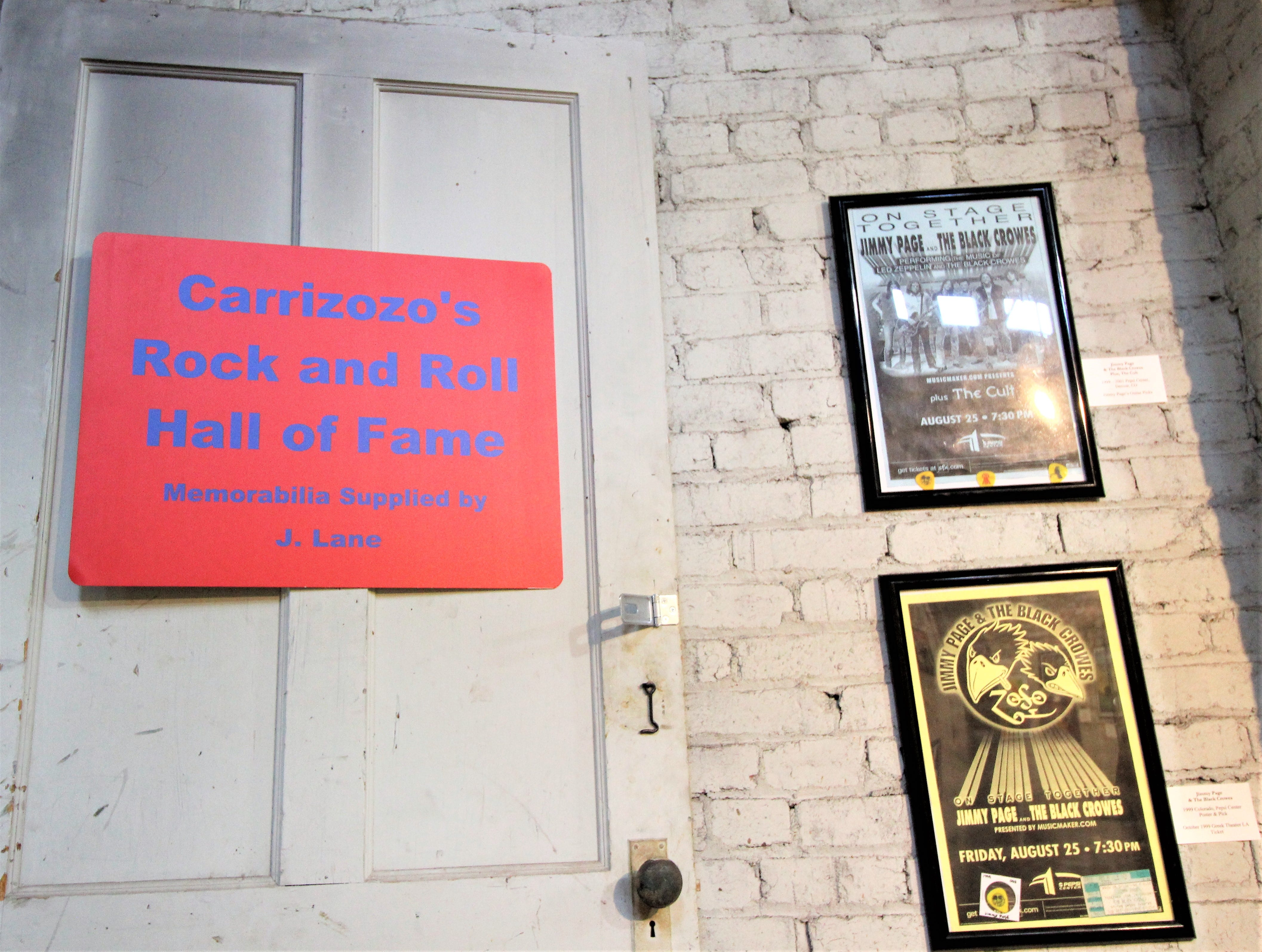 The entry door to the exhibit which is filled with decades of what started as a boys dream and 25 cents.