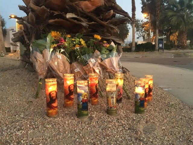 Palm Springs paramedic killed after another driver made an illegal U