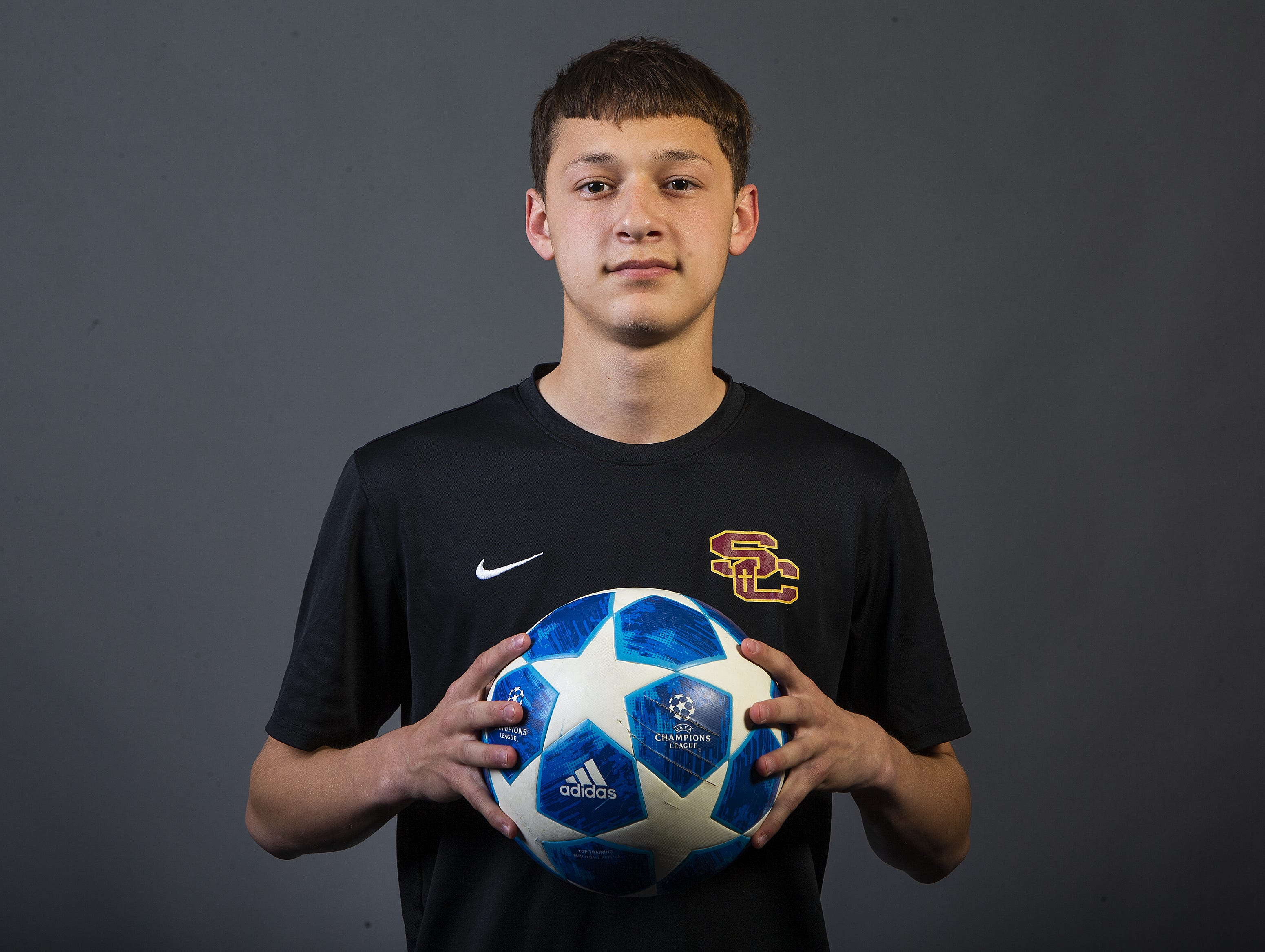 Boys Soccer Player of the Year nominee Francesco Manzo of Salpointe Catholic High School #azcsportsawards.