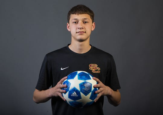 Boys Soccer Player of the Year nominee Francesco Manzo of Salpointe Catholic High School #azcsportsawards.