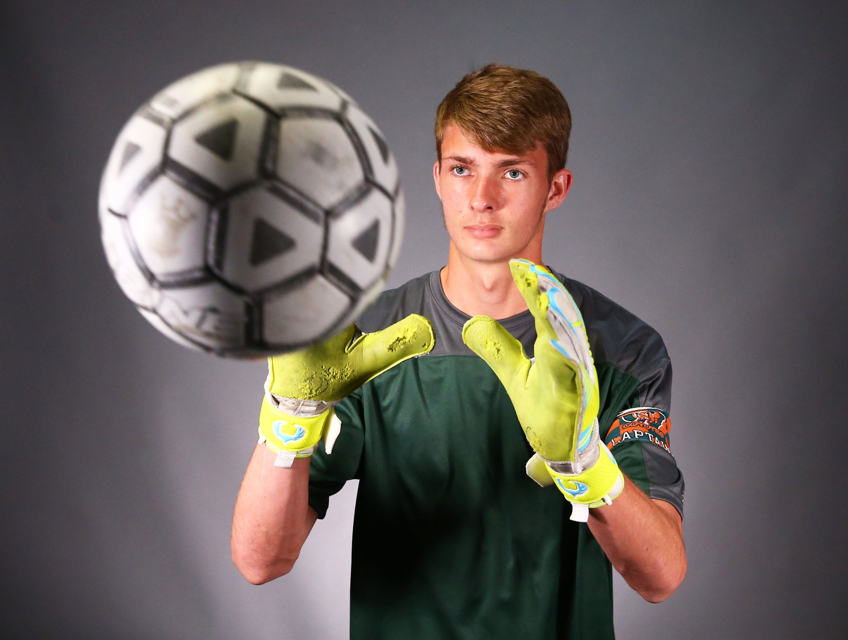 Boys Soccer Player of the Year nominees Jacob Zimmerman of Gilbert Campo Verde #azcsportsawards
