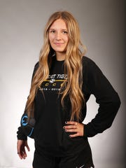 Girls Soccer Player of the Year nominee Amberly Hastings of Gilbert High #azcsportsawards