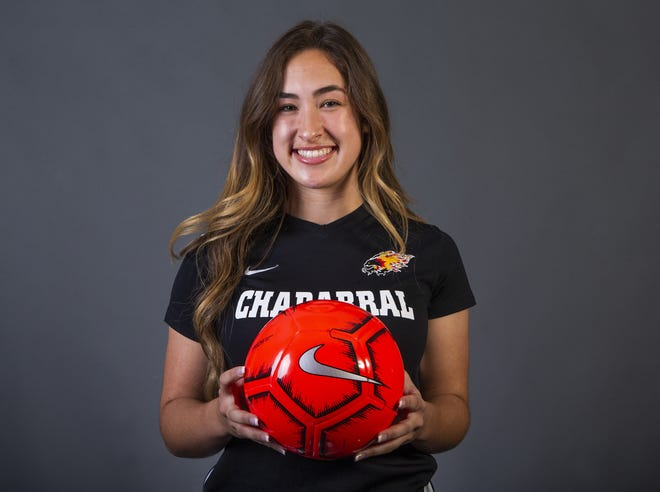 Girls Soccer Player of the Year nominee Keeley Bond of Scottsdale Chaparral #azcsportsawards