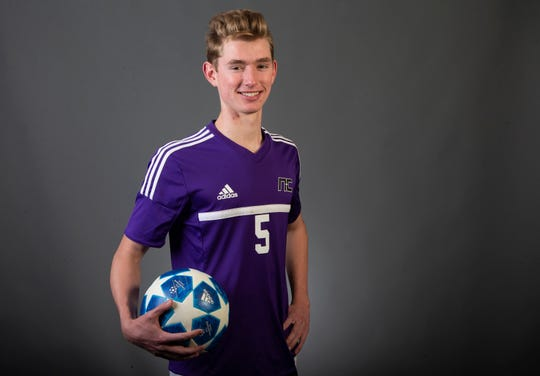 Boys Soccer Player of the Year nominee Michael Huss of Phoenix Northwest Christian #azcsportsawards