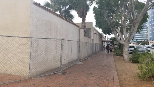 Tempe's Monti's La Casa Vieja steakhouse has been fenced off as crews begin demolishing portions of the iconic building.