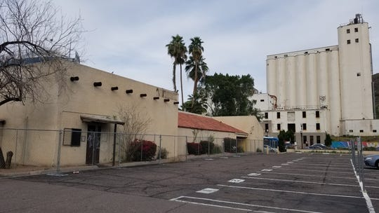 Portions of Tempe's iconic Monti's La Casa Vieja steakhouse on Mill Avenue, across from the Hayden Flour Mill, will be demolished as crews work to restore the historic building.