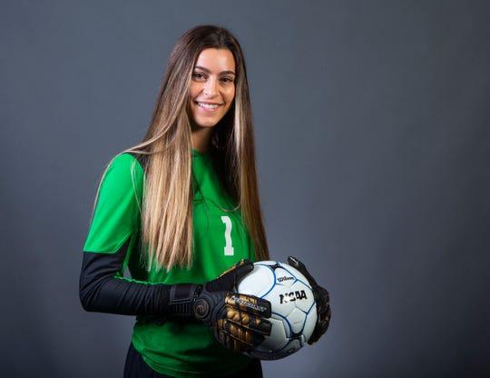 Girls Soccer Player of the Year nominee Tori Gutierrez of Triuvium Prep #azcsportsawards