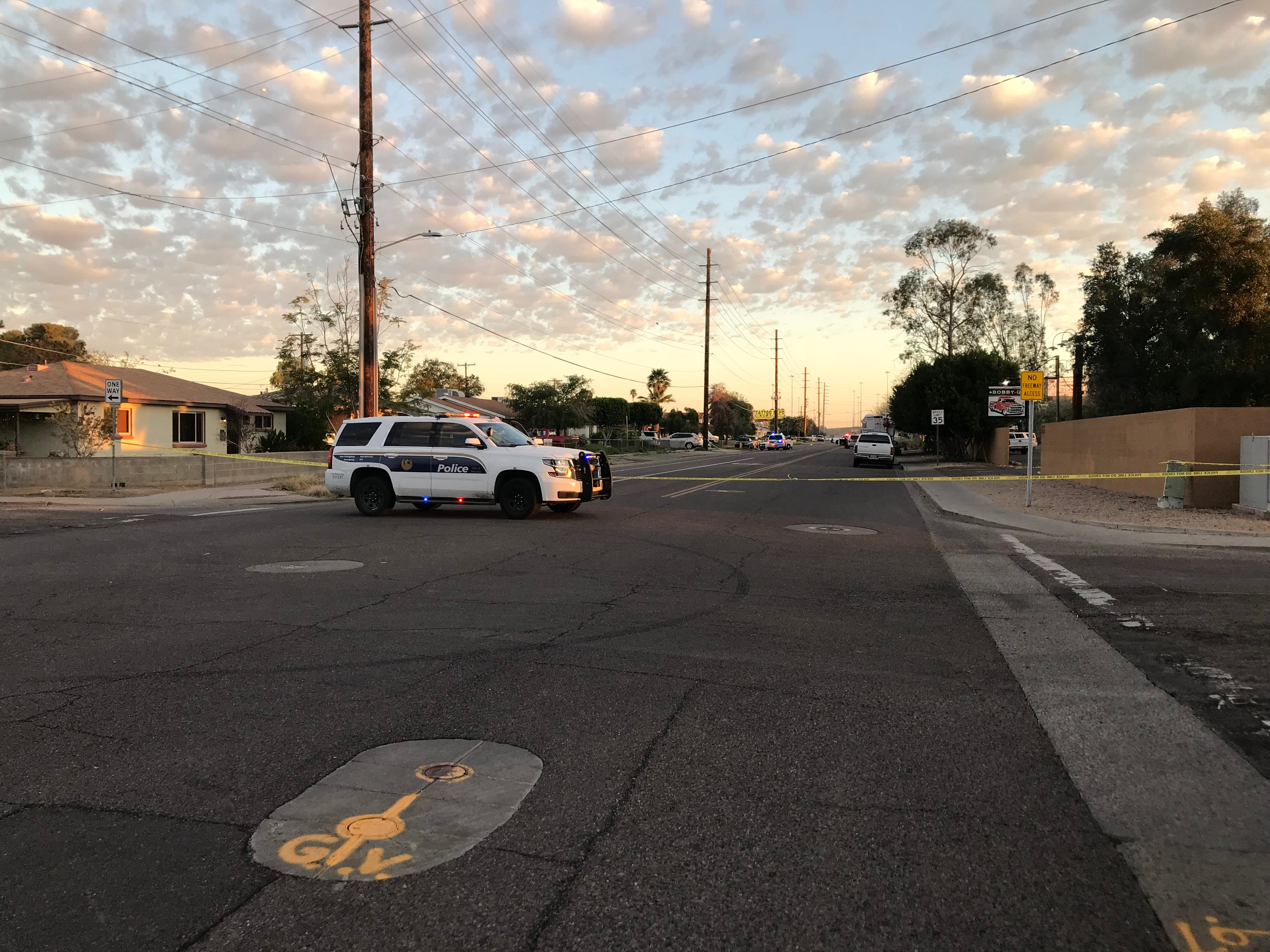 Two people died and four others were wounded in an early morning shooting March 19, 2019, in the 8500 block of North 27th Avenue in Phoenix, according to police officials.