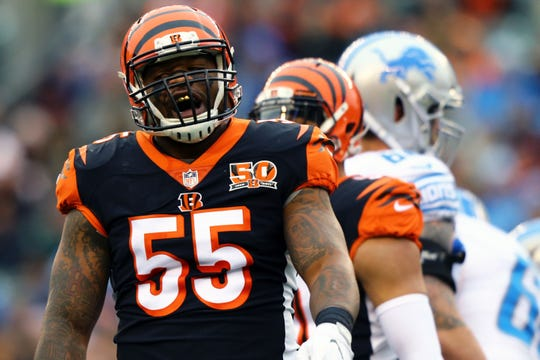 The Bengals on Monday announced the release of  linebacker Vontaze Burfict.