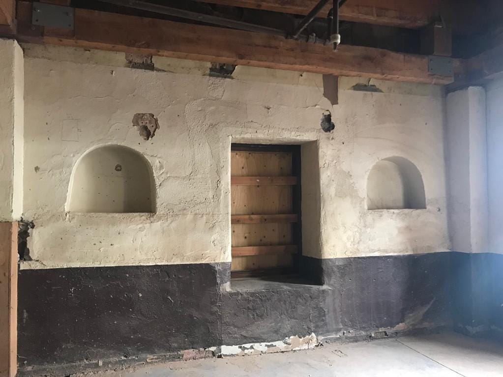 """The """"Hayden Room,"""" where longtime Arizona lawmaker Carl Hayden was said to be born."""