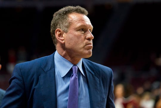 Grand Canyon Antelopes head coach Dan Majerle .
