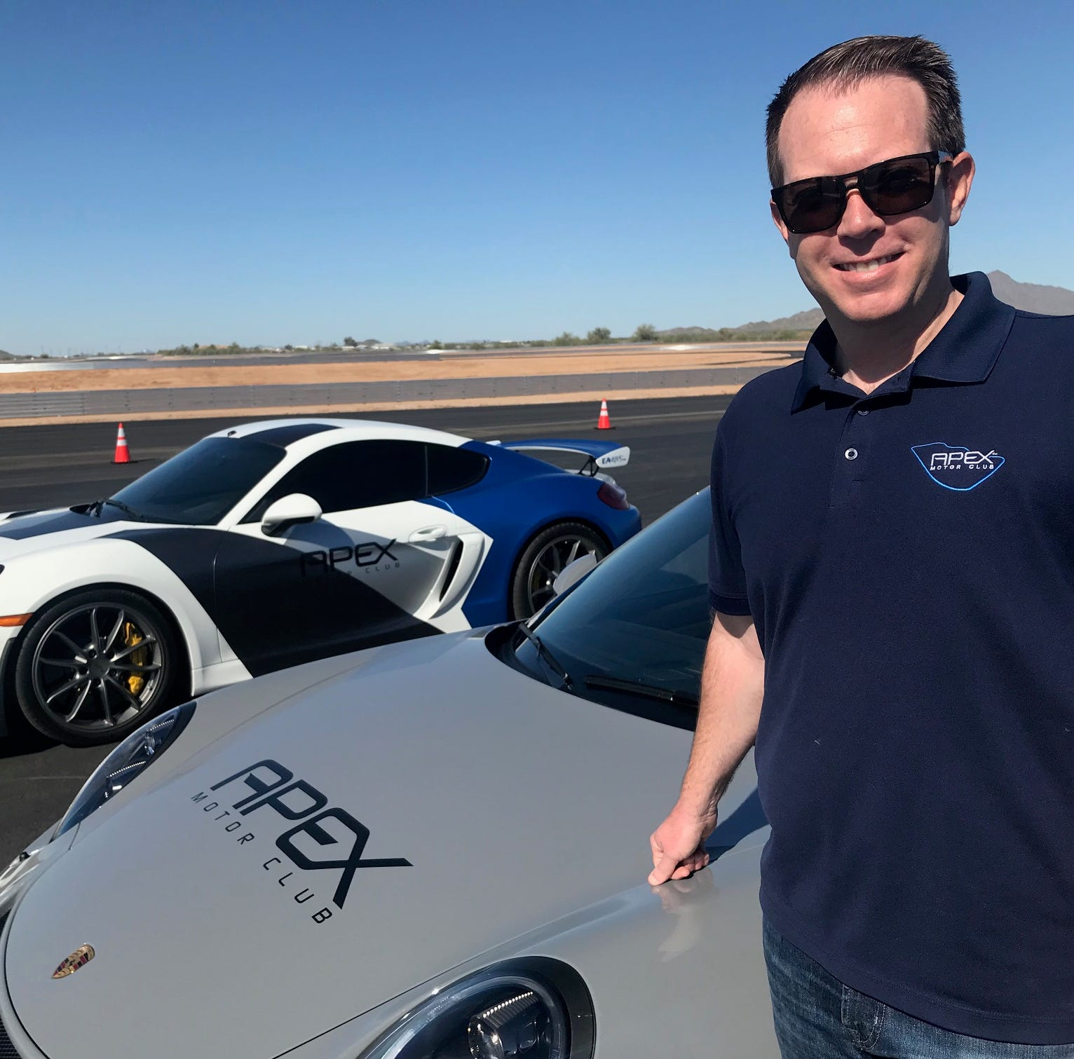 Arizona 'country club' for high-performance cars has a track with no speed limit