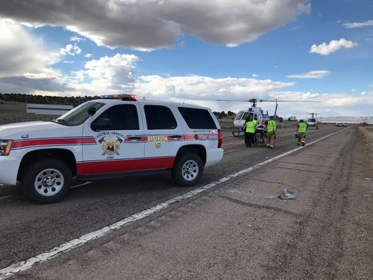 A fatal traffic accident shut down SR 89 north of Chino Valley Monday afternoon.