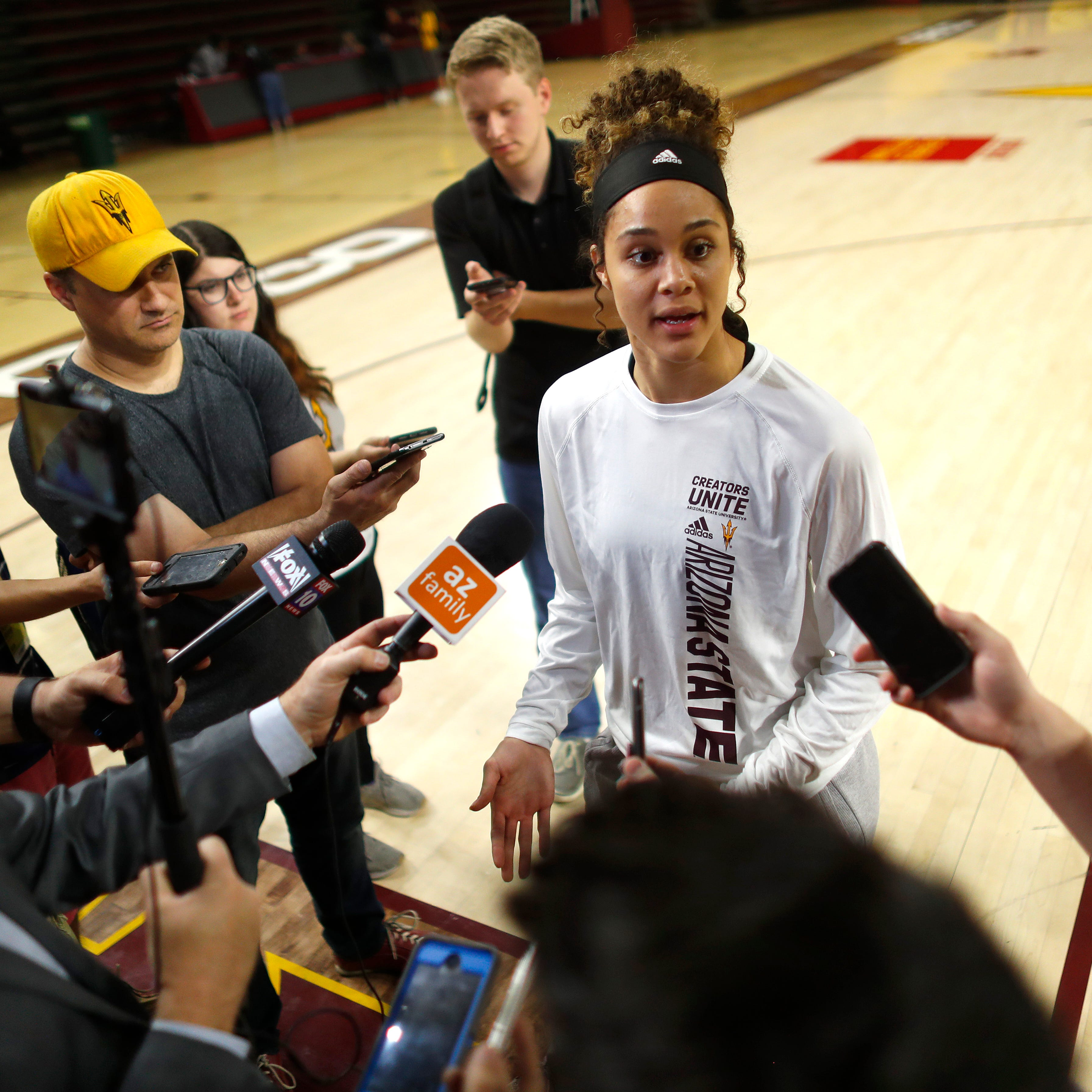 NCAA tournament: Arizona State standout Kianna Ibis embraces South Dakota roots