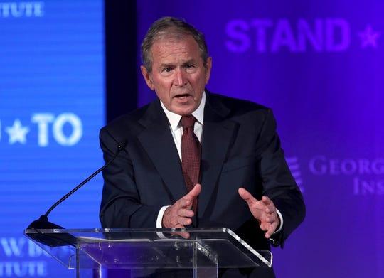 George W Bush, ex presidente de EEUU.