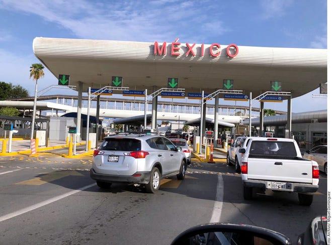 Puerto de entrada hacia México.