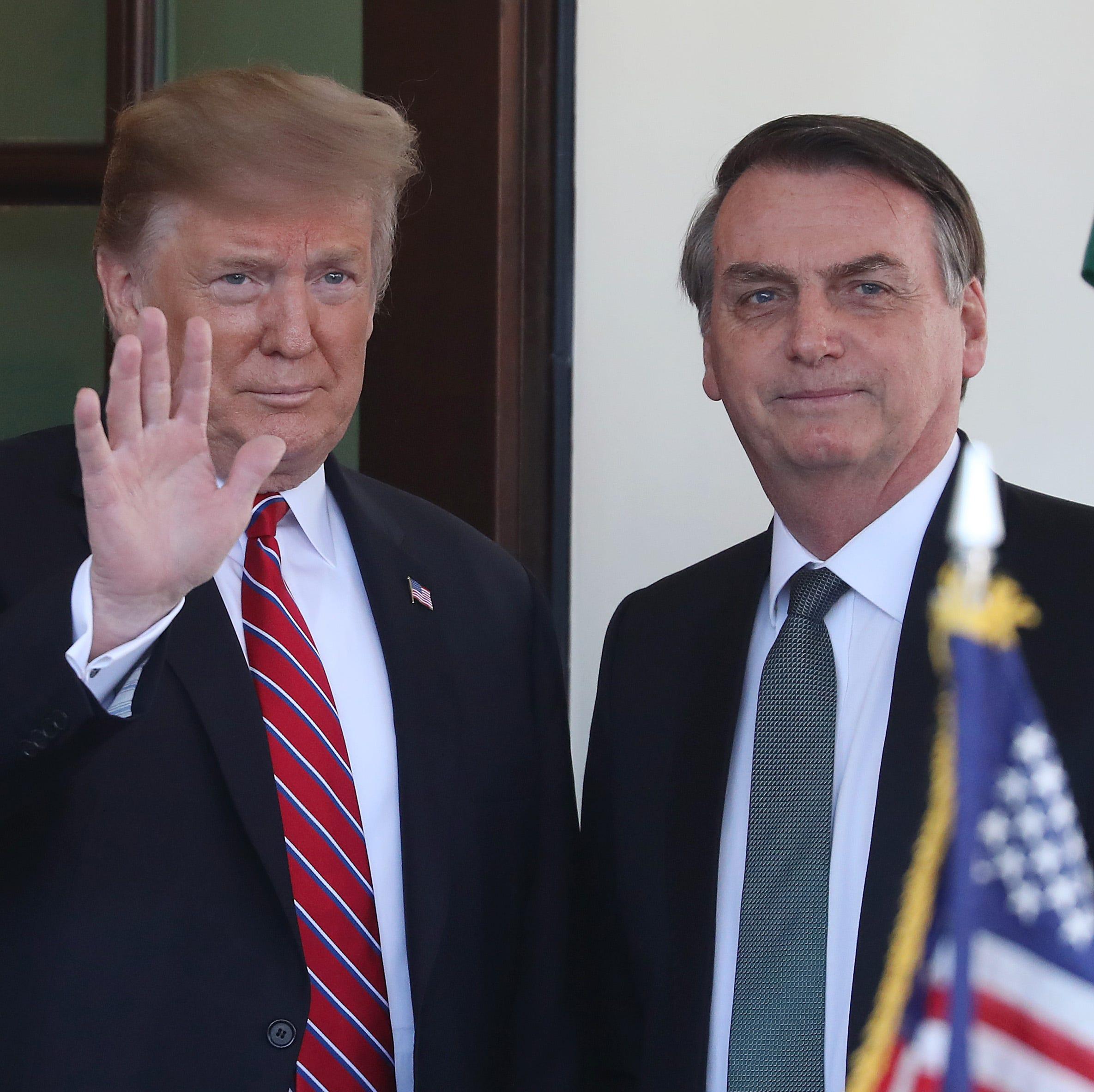 Trump se inclina por dar a Brasil privilegios similares a los de la OTAN