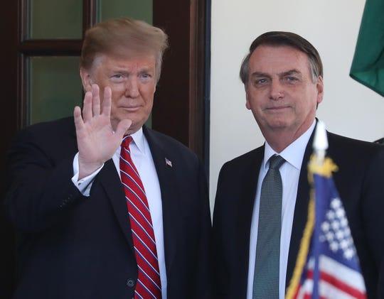 Donald Trump y Jair Bolsonaro.