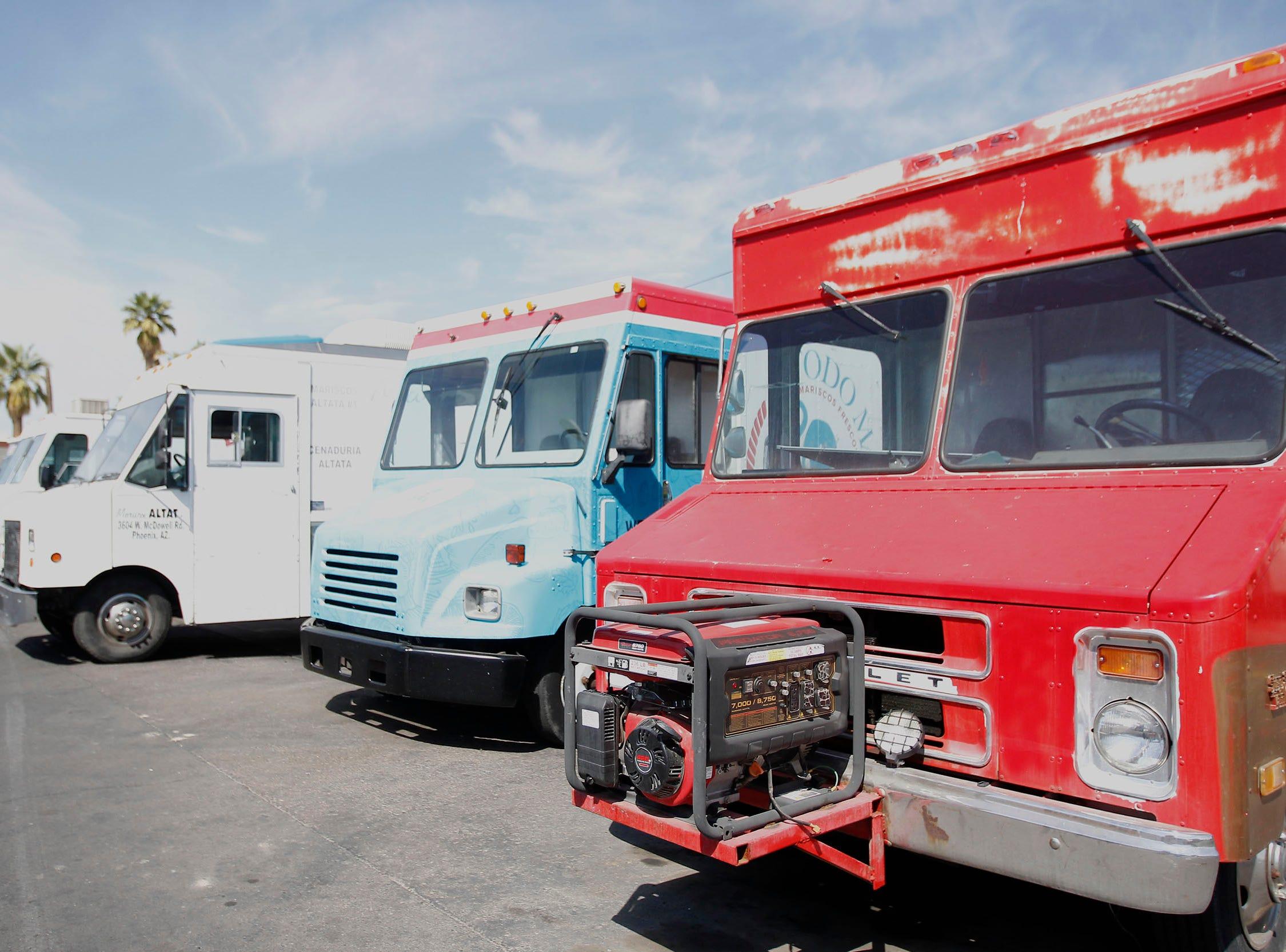 Las ciudades de Arizona han luchado durante mucho tiempo para regular los camiones de comida.