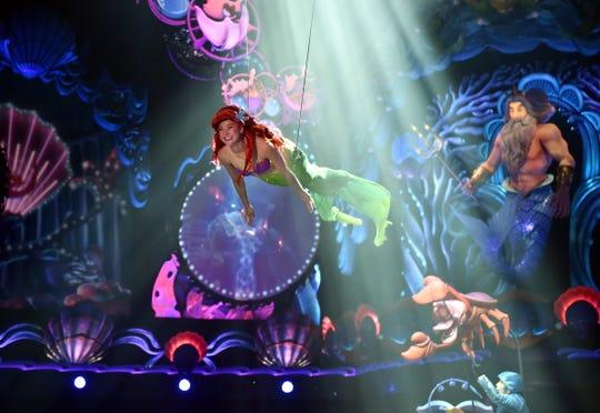 La SIrenita ha sido fuente de inspiración para muchos espectáculos de Disney.