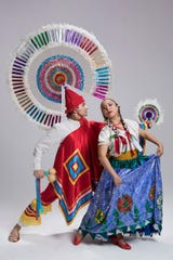 "Alonso Ojeda and Grisel Pren Monje are shown in an excerpt from ""Puebla,"" which will be performed March 24 at Kaatsbaan International Dance Center in Tivoli."