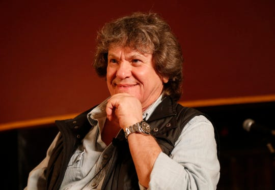 Michael Lang during Tuesday's announcement of the Woodstock 50 line up at Electric Lady Studios in New York City on March 19, 2019.