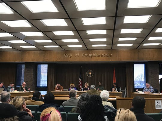 The City of Poughkeepsie Common Council met on Monday night.