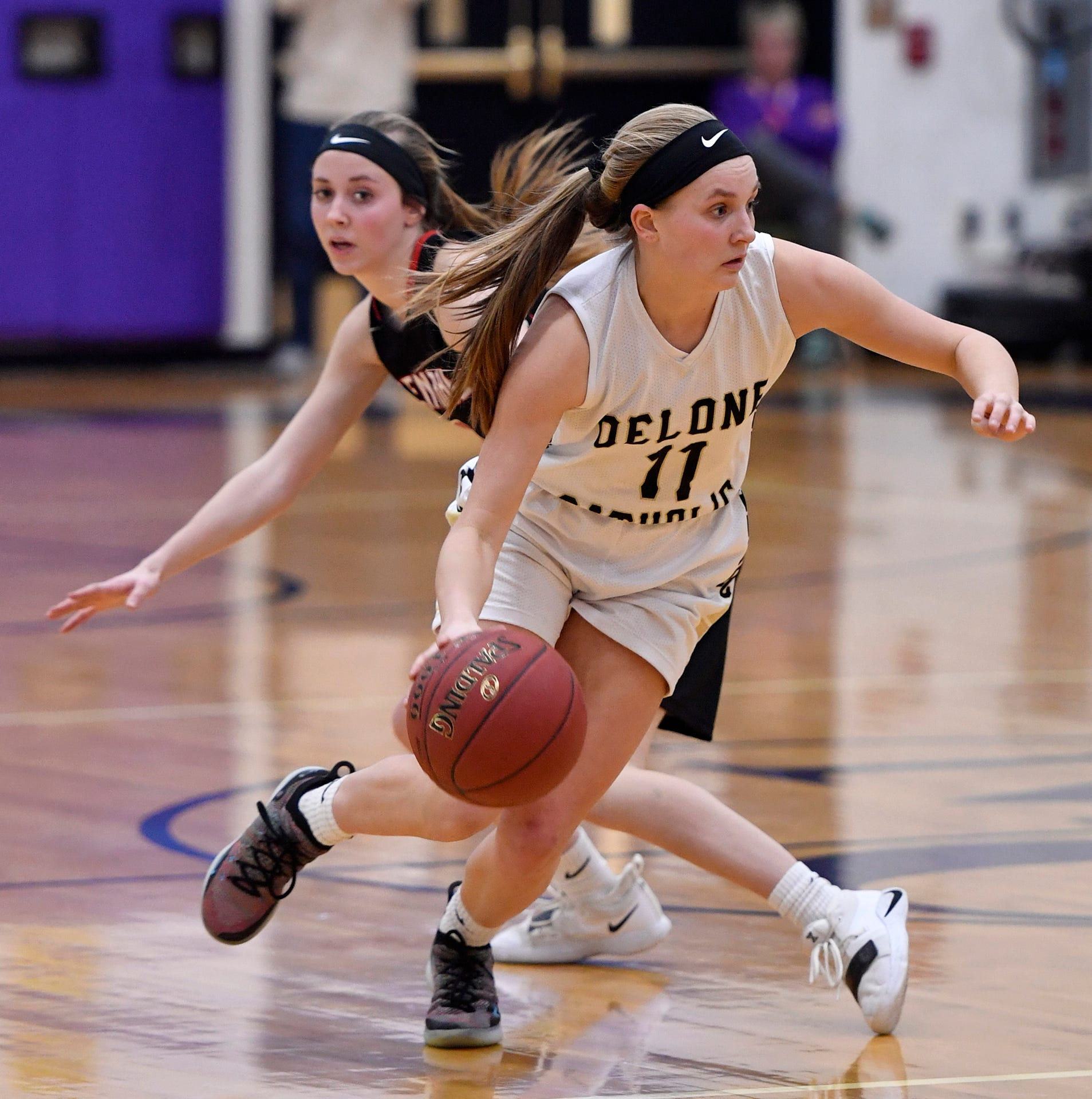 Delone Catholic girls face daunting task vs. unbeaten Dunmore in PIAA 3-A basketball final