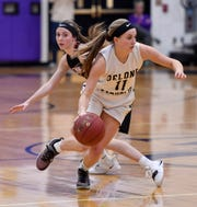 Riley Vingsen and her Delone Catholic teammates face a daunting task on Thursday vs. Dunmore in the PIAA Class 3-A state title basketball game.