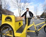 Matt McDunnell is planning to launch York Pedicabs in April 2019. The tip-based transit will accommodate visitors throughout downtown York.