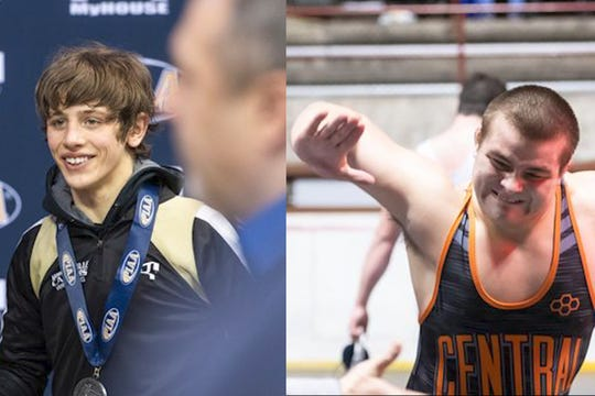 Biglerville's Levi Haines (left) and Central York's Michael Wolfgram (right) were both unstoppable this year.