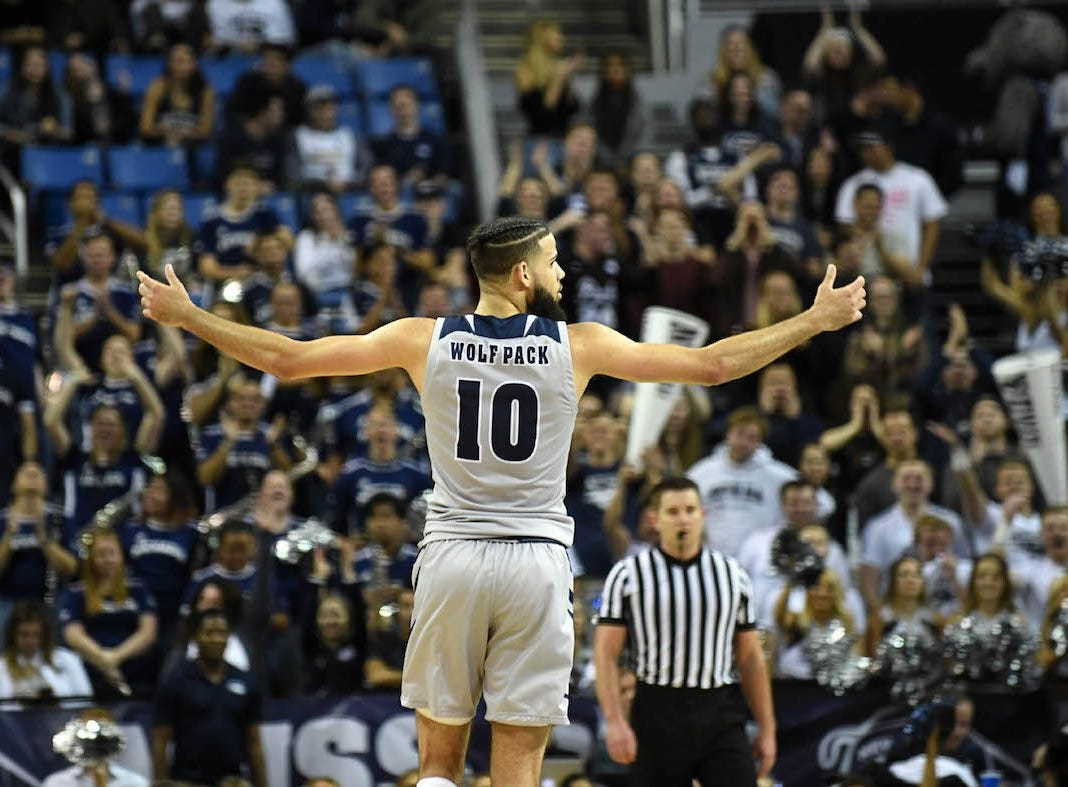 Nevada's Caleb Martin, a preseason All-American, has been one of the Wolf Pack's key figures all season.