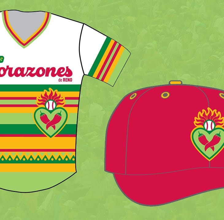 "Reno Aces to become ""Los Corazones de Reno"" for four games in 2019"