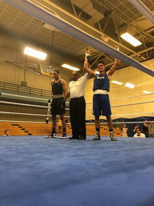 Nevada's Nate Strother won a Western Region boxing championship. Nevada will send four boxers to Nationals