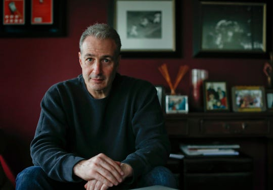 Ben Lieberman of Chappaqua, N.Y.,  whose 19-year-old son died in a crash involving distracted driving, is urging support for a legislative proposal that would make Nevada the first state in the U.S. to allow police to use prototype technology to find out if a person was using a cellphone during a car crash.