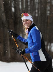 Pittsford Mendon's Anna Schriefer won the individual classic races at both sectionals and states.