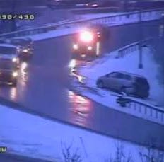 Multiple crashes reported as snow creates slick conditions on roads; weather alert issued