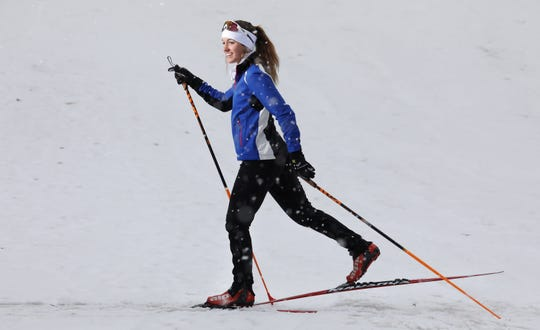 Anna Schriefer of Pittsford Mendon is the All-Greater Rochester Girls Nordic Skier of the Year.