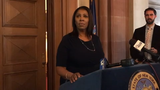 Attorney General Tish James discusses her support for a bill that would allow New York to pursue criminal charges against those who receive a presidential pardon.