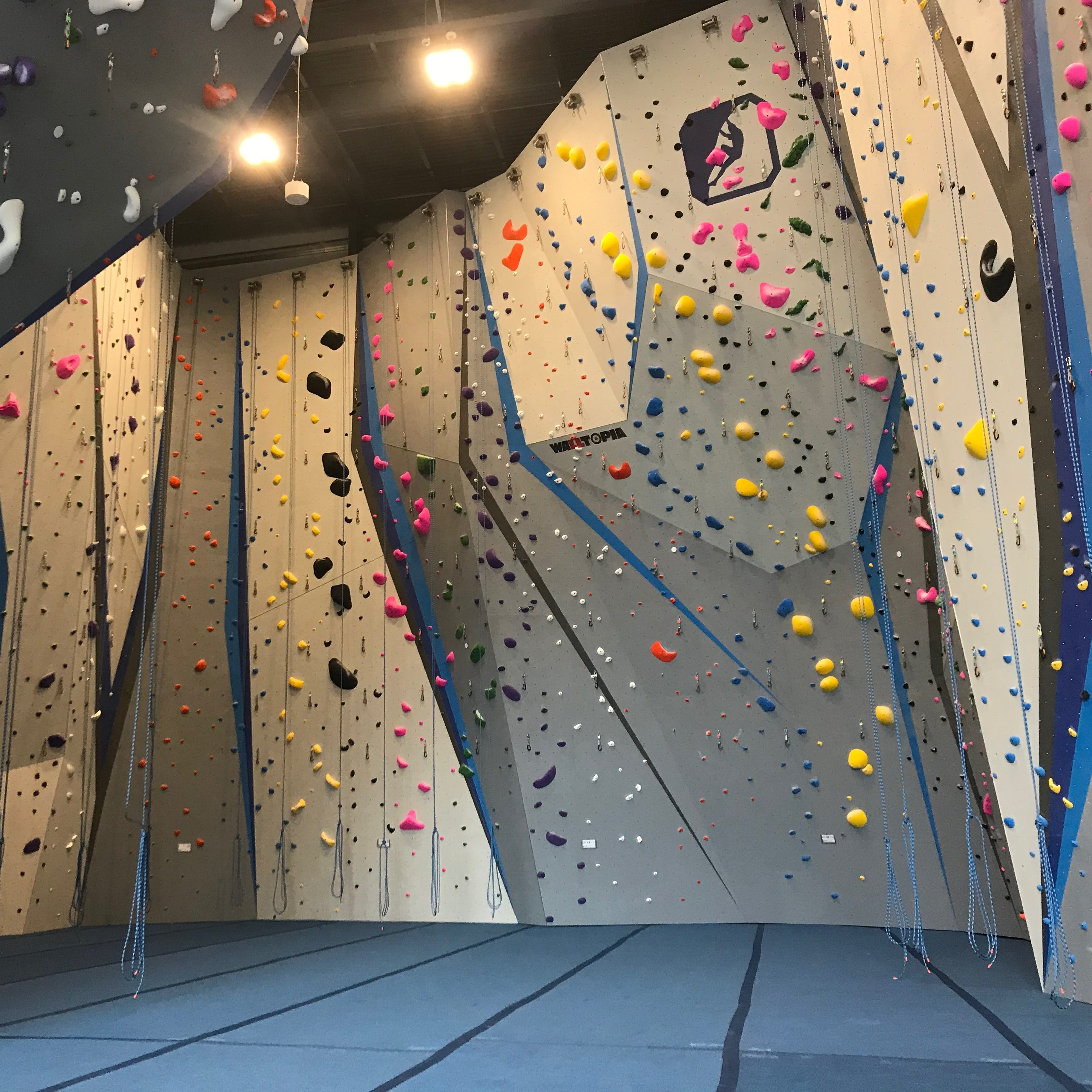 Dead-end street on the east side of Rochester transforms into newest indoor rock climbing venue