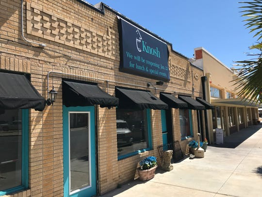 Knosh, 208 S. Oakes, is a restaurant in downtown San Angelo.
