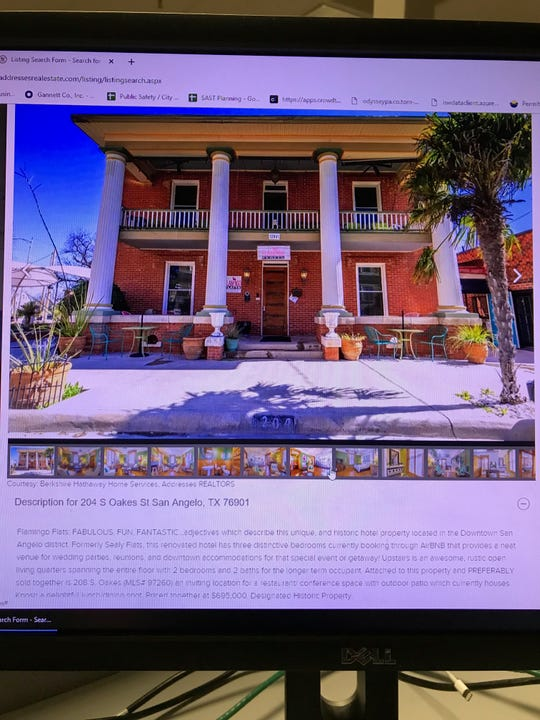 The listing for Flamingo Flatts on Berkshire Hathaway Addresses Realtors website gives a price of $550,000.