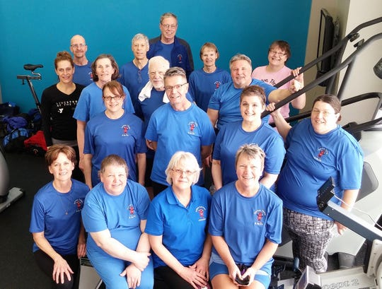"""""""Survive, Thrive & Be Fit"""" program participants rowed 62 miles in record time on March 9."""