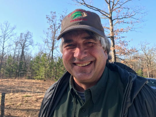 Ken McCarty, director of natural resource management at Missouri State Parks.