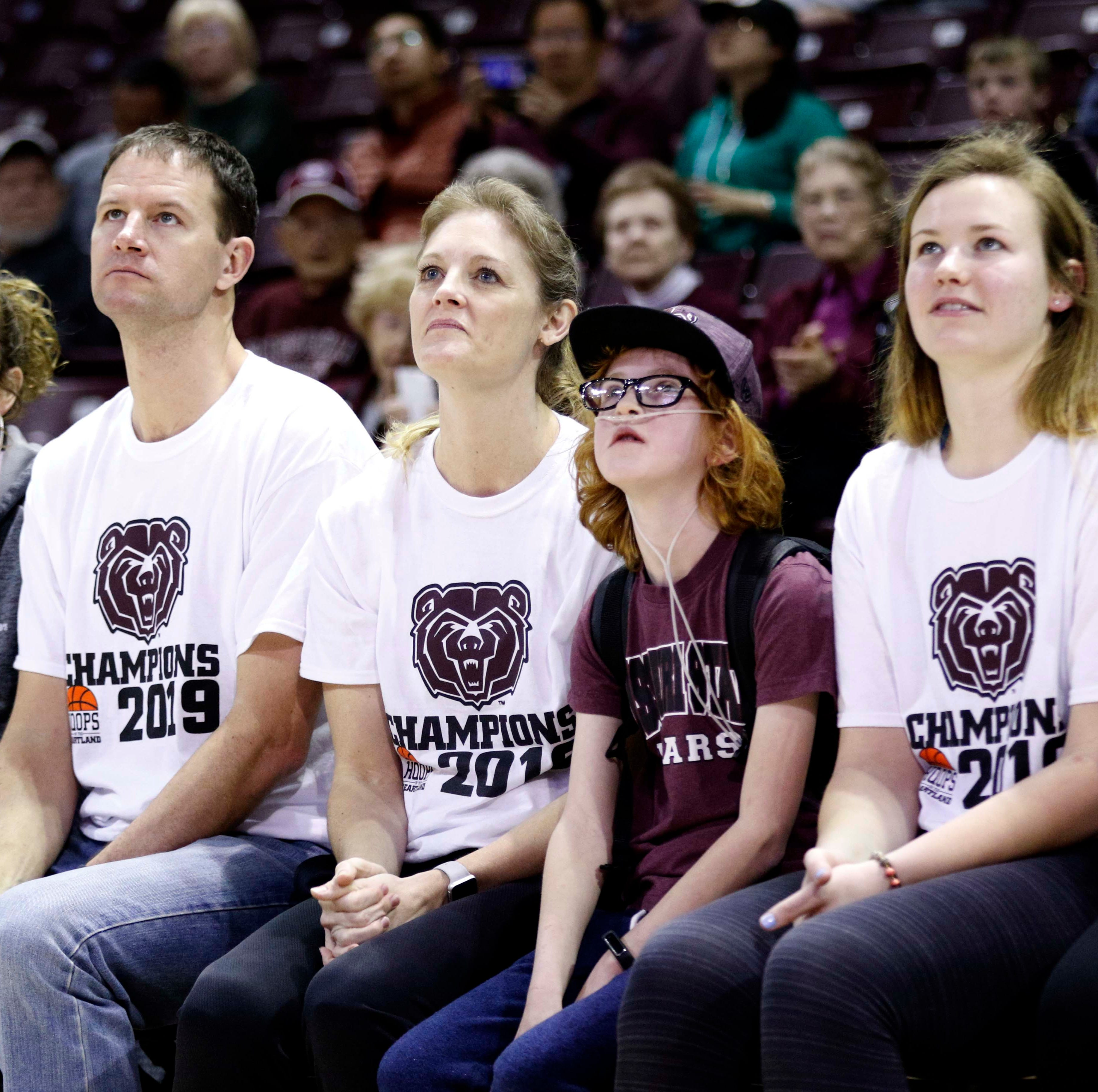 10-year-old and Lady Bears inspire each other on magical ride
