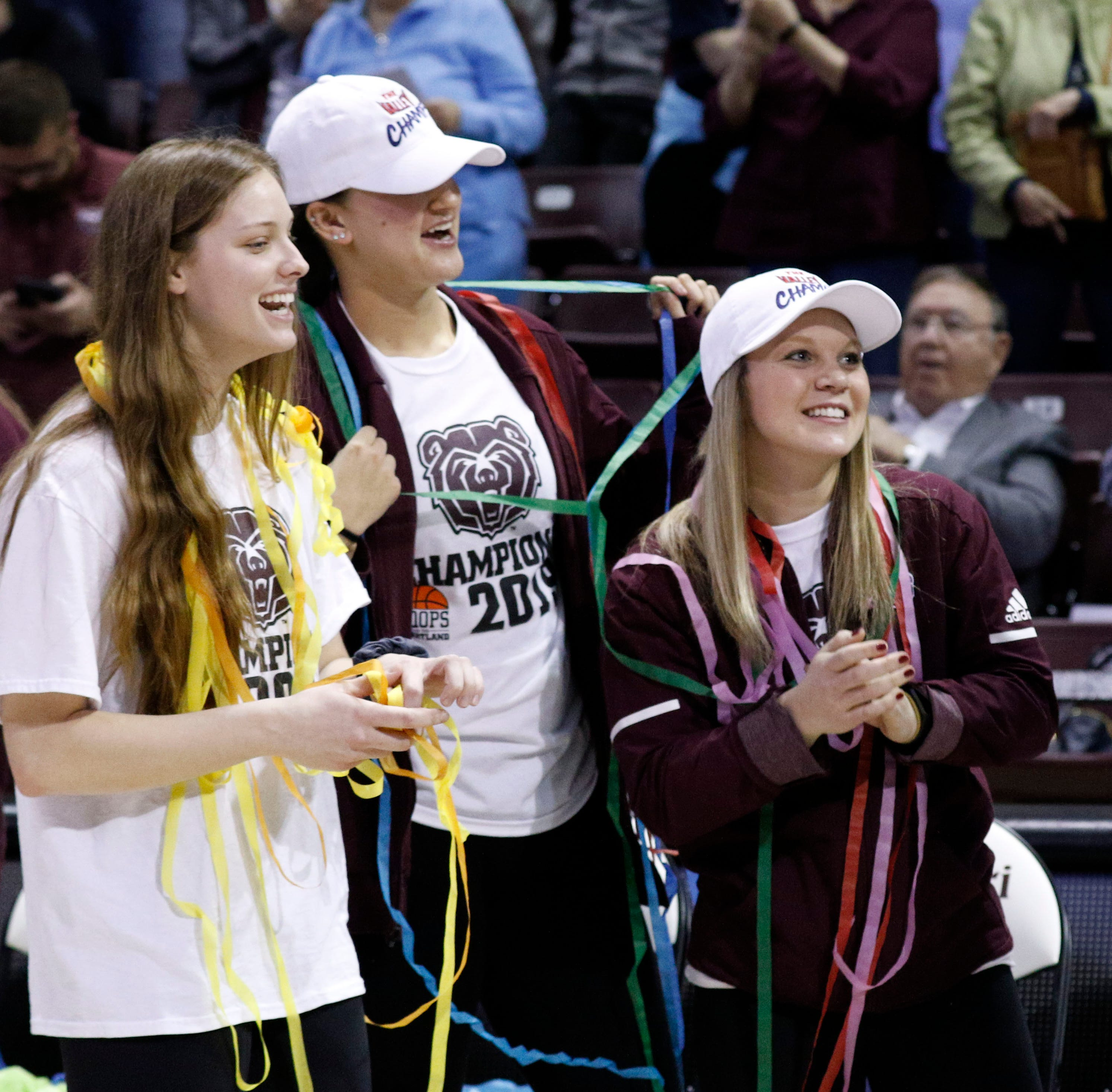 Leaked NCAA Tournament bracket was a 'bummer,' but it didn't stop the Lady Bears' celebration