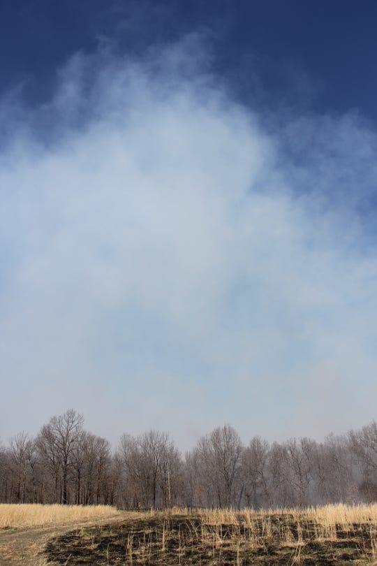 Towering plumes of smoke from agency-managed controlled burns are common springtime in Missouri.