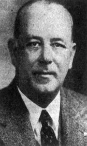 Former City Manager William Guy Ancell, who left Staunton in 1948 to take a job as city manager of Portsmouth.