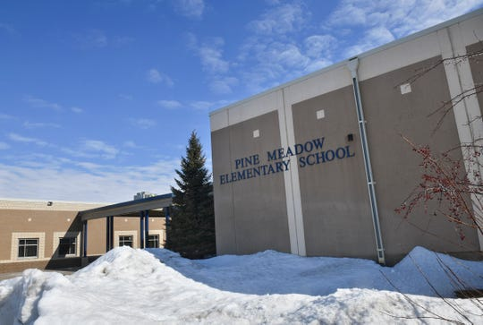 Pine Meadow Elementary School is pictured Tuesday, March 19, in Sartell.